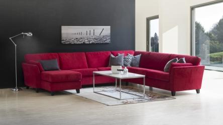 Comfort mix vinkel med longchair